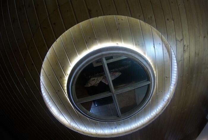 techo luminoso personalizado